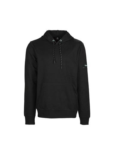 Hummel Hmlzador Erkek Sweatshirt Siyah